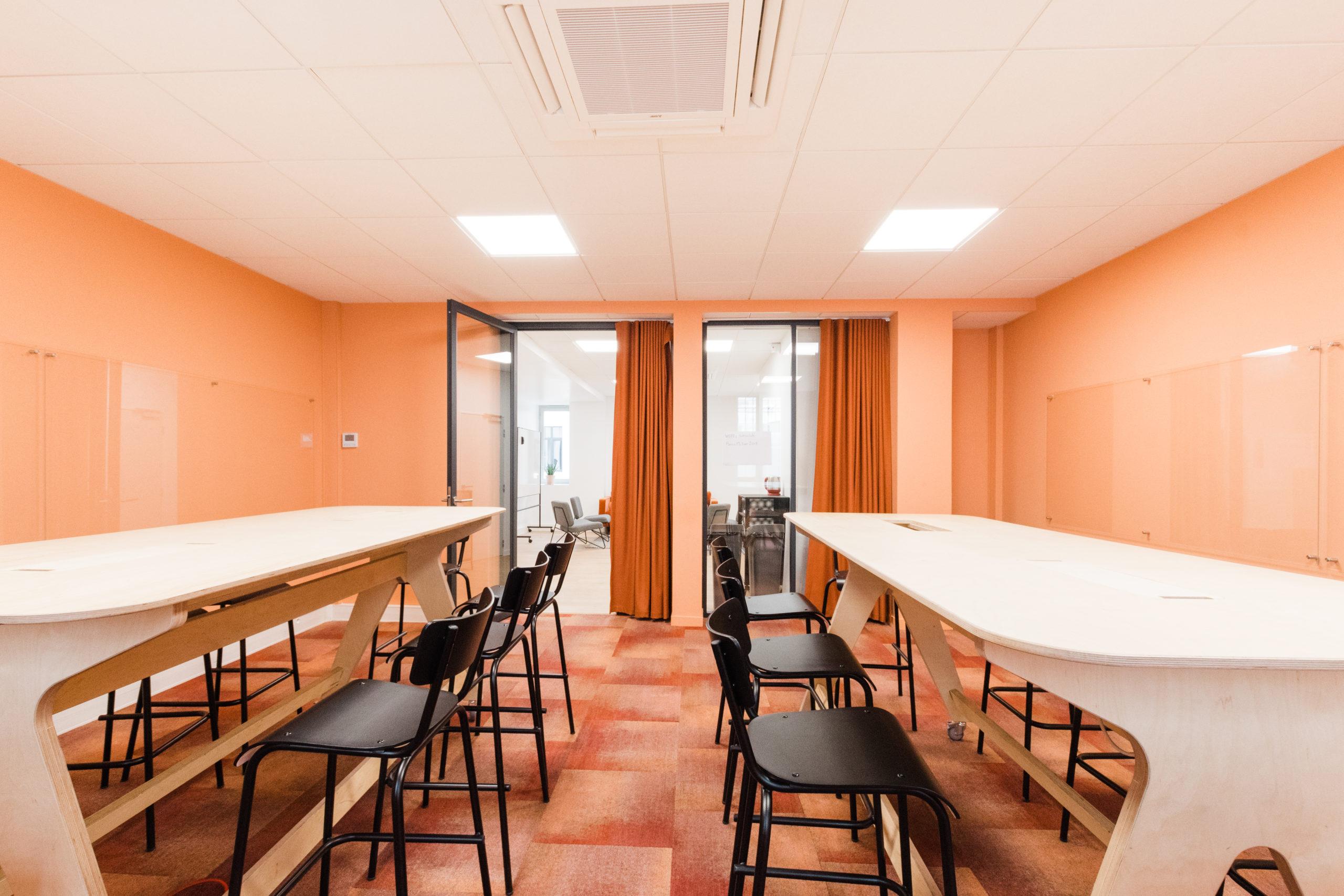 Salle de Réunion La Récré - Schoolab Saint-Lazare