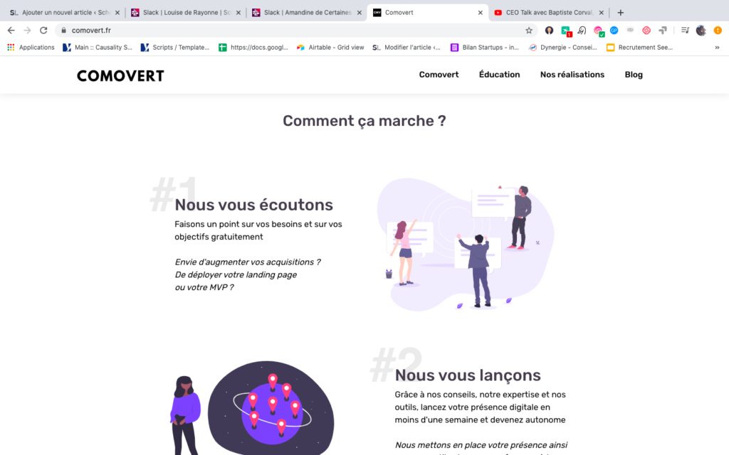 accompagnement startup