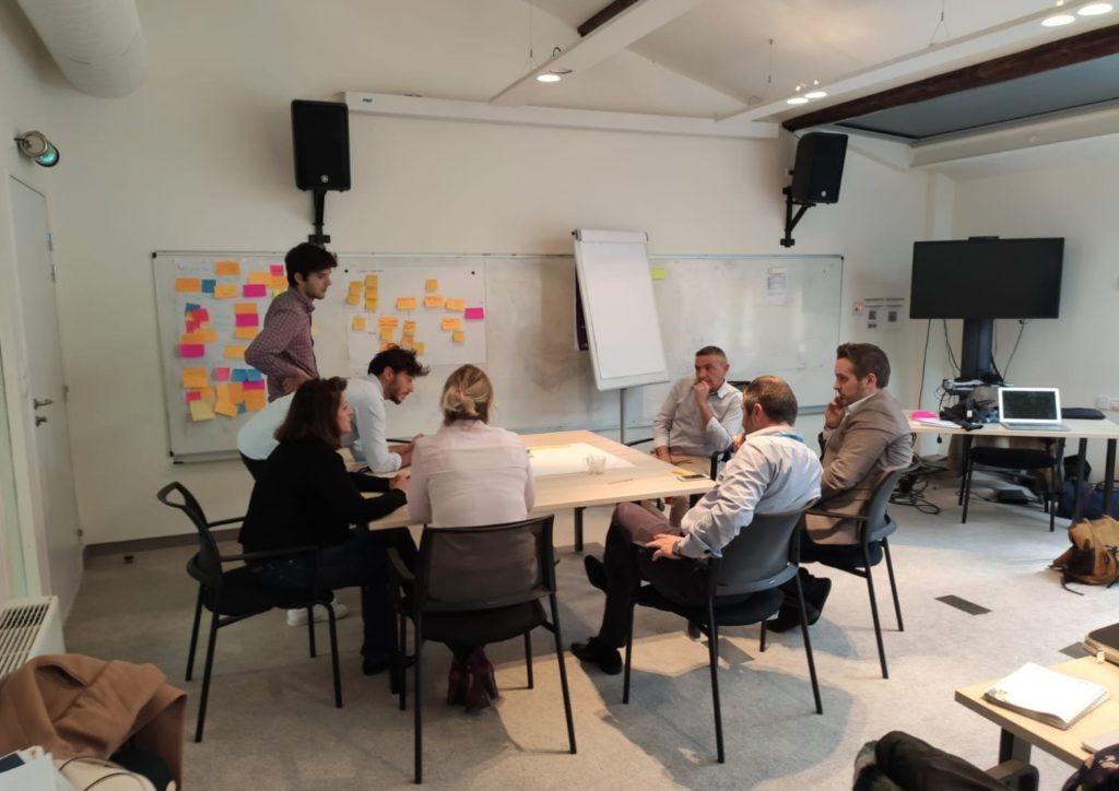 Session collaborative de construction de la plateforme