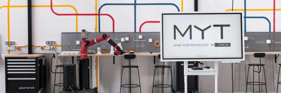 MYT by L'Oréal lab d'innovation interne